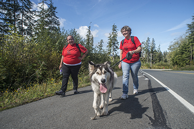 Makah Tribe uses walk to practice for tsunami emergency
