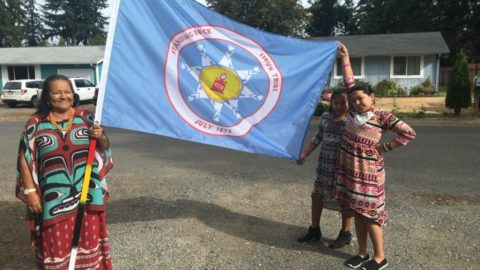 """Treaty Tribes Support Standing Rock Sioux: """"Our Futures Are Bound Together"""""""