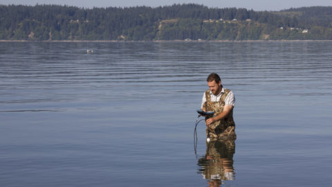 Tribes sample water quality to ensure beach safety