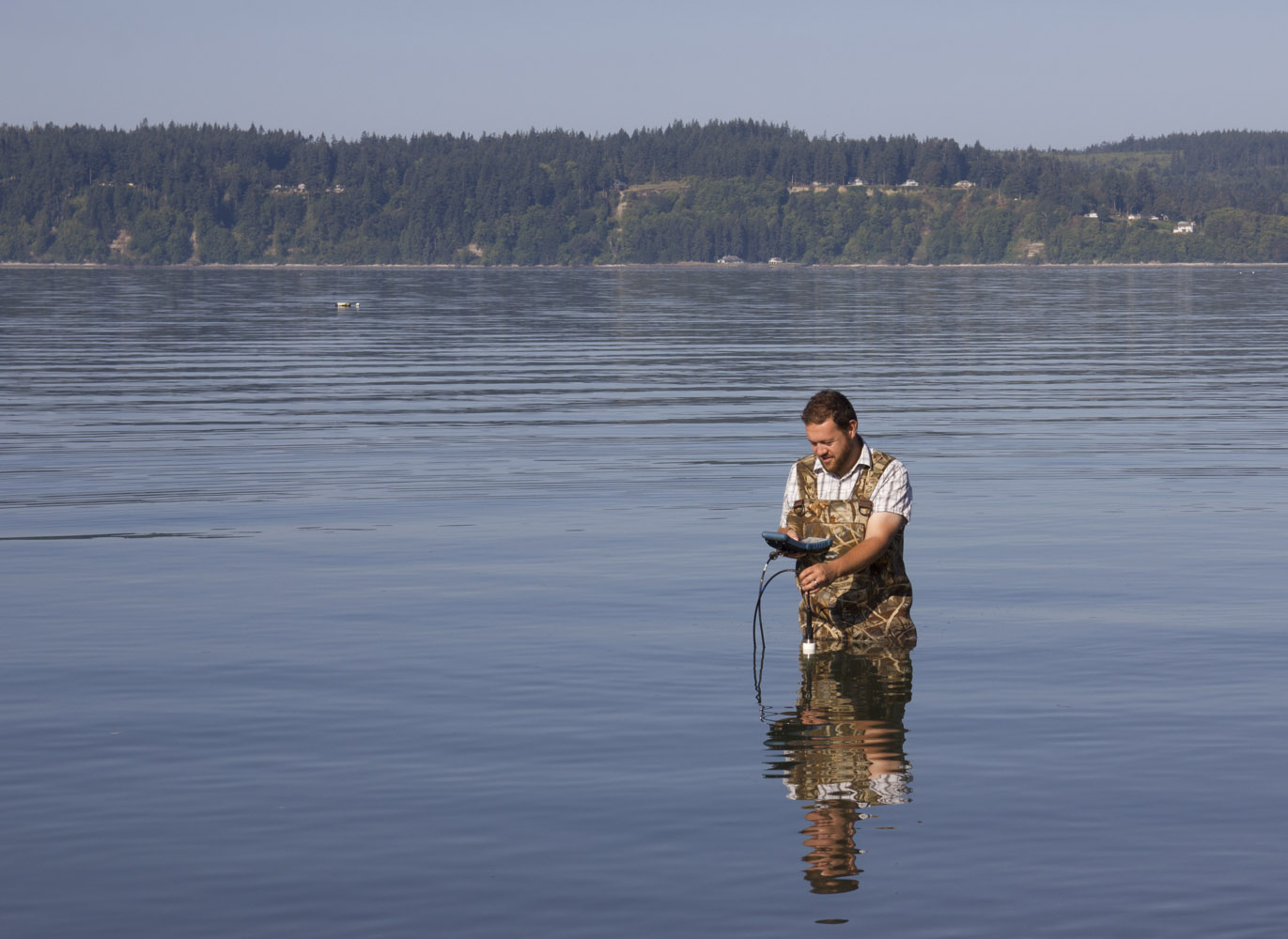 Tribes sample water quality to ensure beach safety - Northwest ...