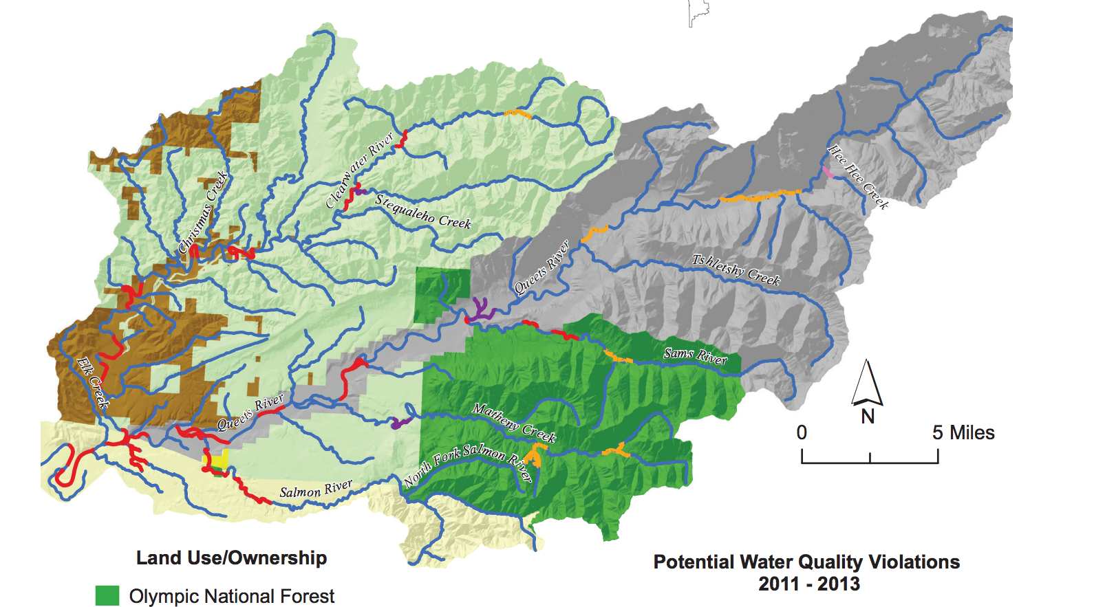 State of Our Watersheds: Glacier melt, logging threatens salmon in the Queets