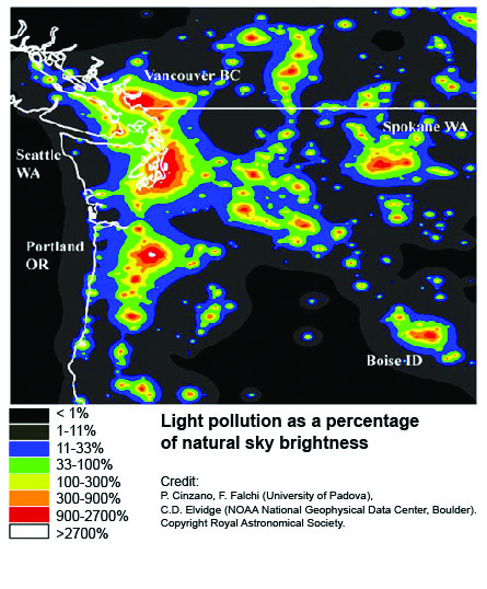 State of Our Watersheds: Light pollution could be hurting salmon