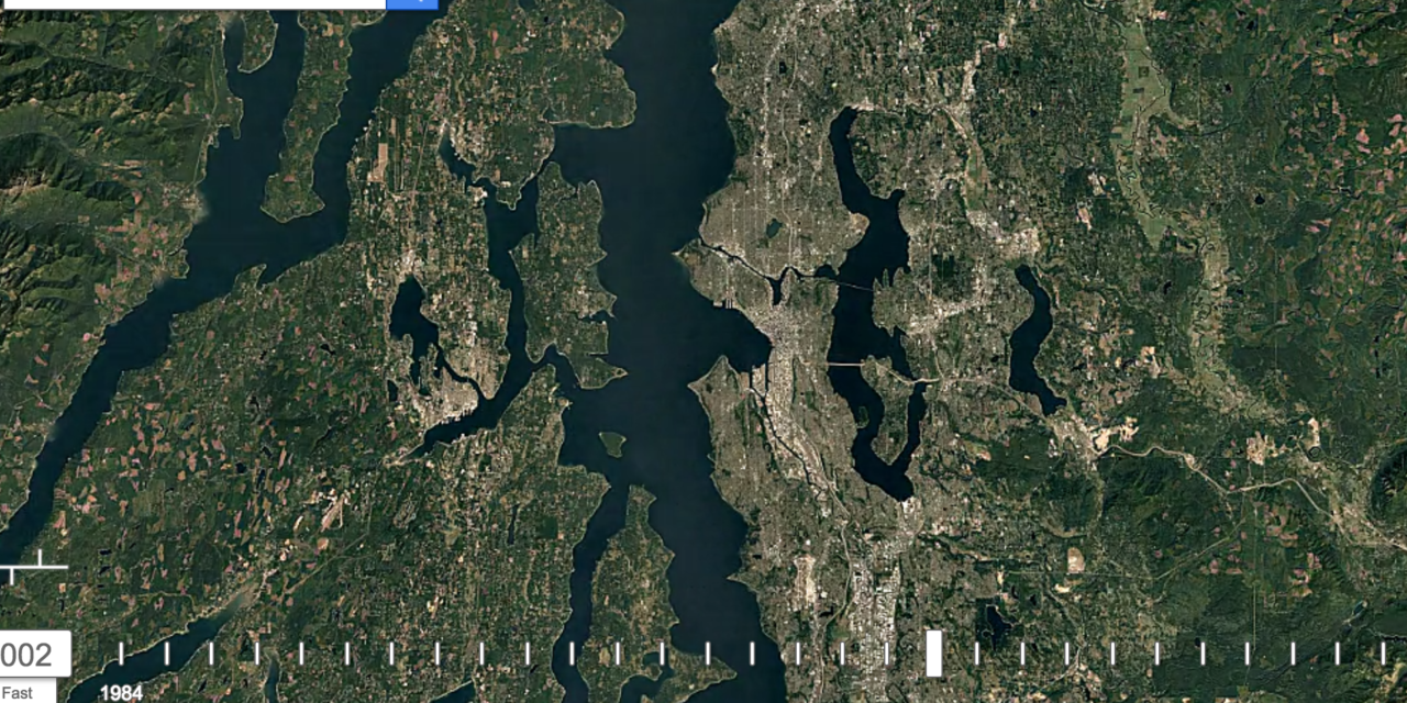 Watch 30 years of changes to western Washington landscape