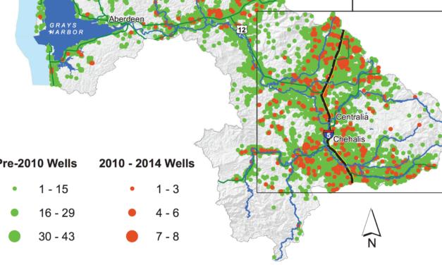 Hundreds of new wells hurting Chehalis River salmon