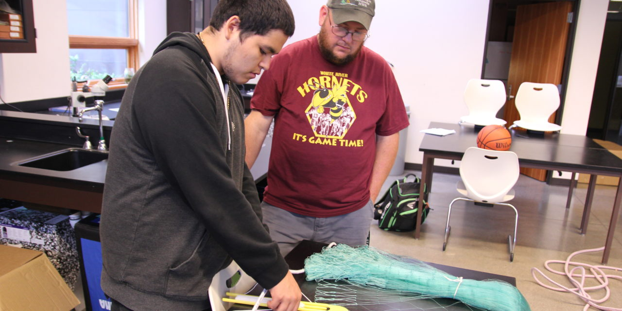 Understanding fisheries through hands-on experience