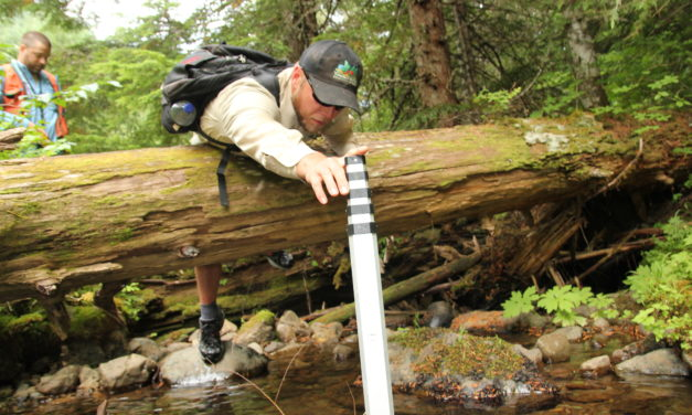 Tribe studies fish habitat in community-owned forest