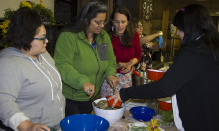 Tribal Members Stay Healthy with Traditional Food and Medicine