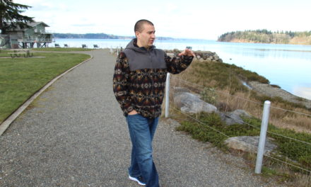 Billy Frank Jr. honored at Port of Olympia park