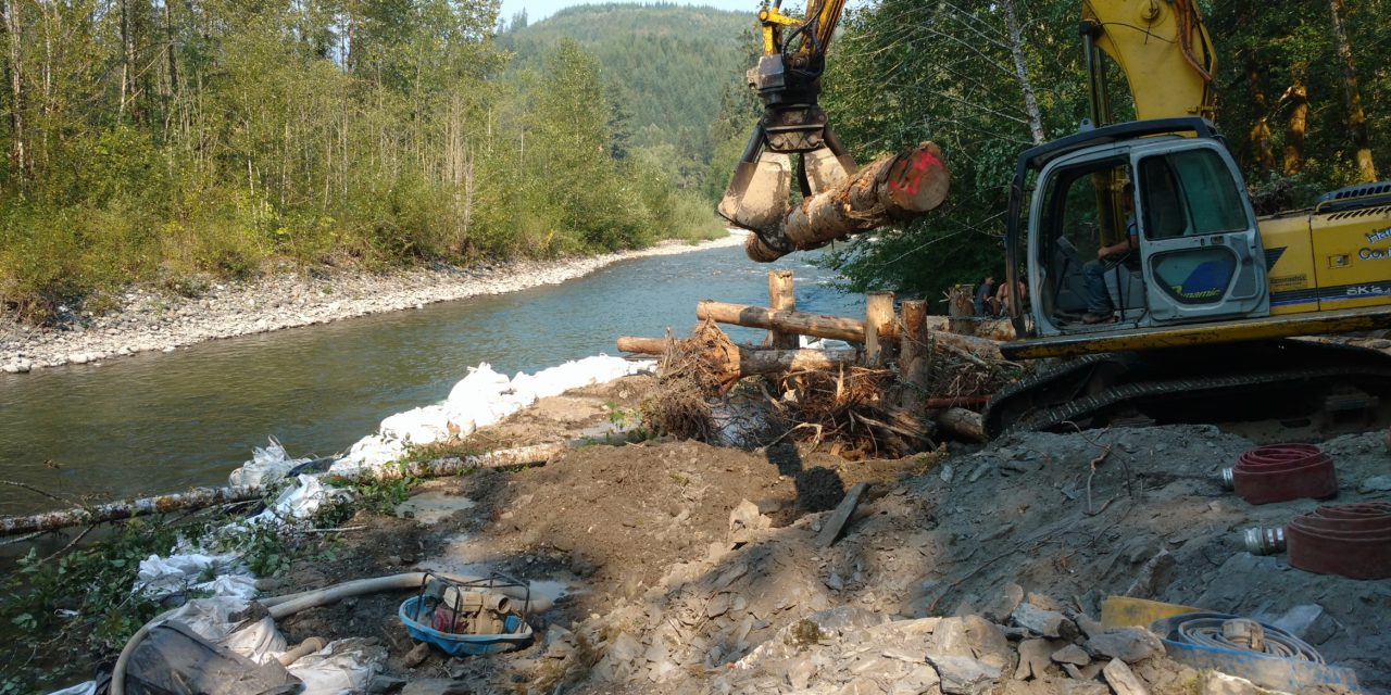 Lummi continues to improve salmon habitat on South Fork Nooksack