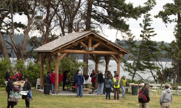 Kukutali Preserve offers shelter for visitors and fish