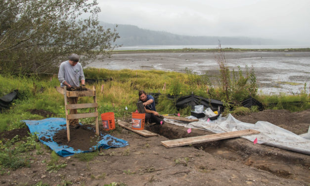 Creek Restoration Reveals Archaeological Site in Sequim Bay