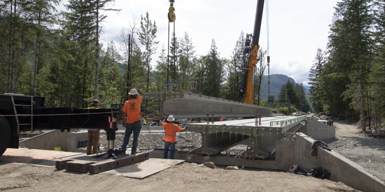 New bridges unshackle Skagit tributary
